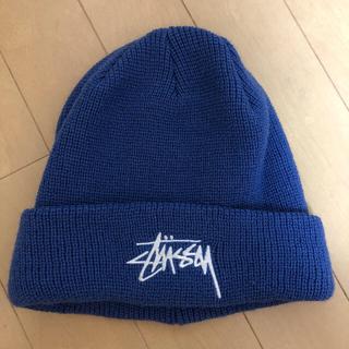 ステューシー(STUSSY)のSTUSSY ニット帽 タオルセット(ニット帽/ビーニー)
