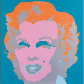 アンディウォーホル(Andy Warhol)のウォーホル マリリン 「サンデーBモーニング版」(版画)