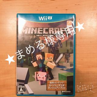 ウィーユー(Wii U)の中古品☆WIIUソフト☆マインクラフト☆(家庭用ゲームソフト)