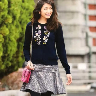 チェスティ(Chesty)のchesty 定価17820円 ジャガードスカート(ミニスカート)