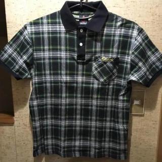 チャイルドフッド(CHILDHOOD)のCHILDFOOD 半袖チェック ポロシャツ Mサイズ(ポロシャツ)
