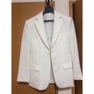 ホワイトスーツ(スーツジャケット)