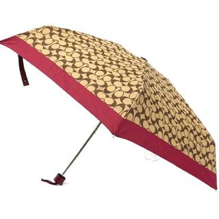 コーチ(COACH)の【新品】COACH 折り畳み傘(傘)