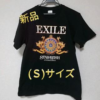 エグザイル トライブ(EXILE TRIBE)の【新品】EXILE STAR OF WISH ツアーTシャツ(S) BLACK(ミュージシャン)