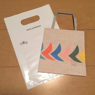 ミナペルホネン(mina perhonen)の新品★ミナペルホネン memo bag(ノート/メモ帳/ふせん)