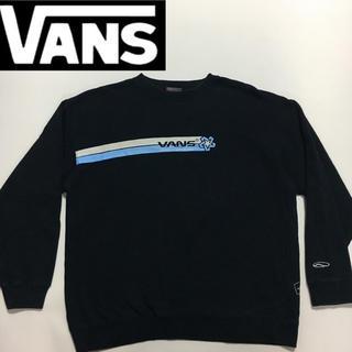 ヴァンズ(VANS)のVANS バンス 90' トレーナー スエット ブラック  Lサイズ (スウェット)