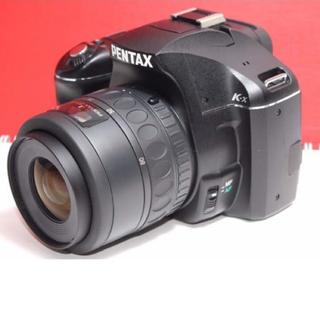ペンタックス(PENTAX)の★Wifi・SD付でスマホに送れる★ペンタックス K-X レンズセット(デジタル一眼)