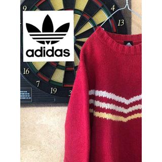 アディダス(adidas)のadidas ロゴ ニット(ニット/セーター)