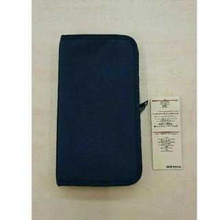 ムジルシリョウヒン(MUJI (無印良品))の無印良品 パスポートケース ネイビー(日用品/生活雑貨)