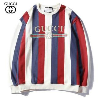 グッチ(Gucci)のgucci メンズトレーナー 丸首 カジュアル(パーカー)