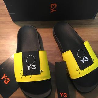ワイスリー(Y-3)のy-3 ADILETTE サンダル yellow(サンダル)
