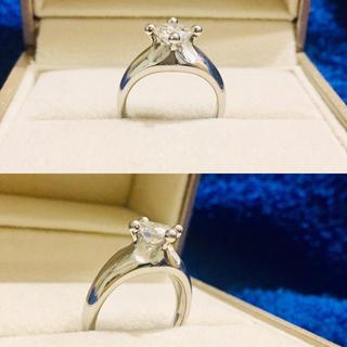 【mary07048様★専用】ダイヤ★リング★指輪★0.75ct★Eカラー★1粒(リング(指輪))