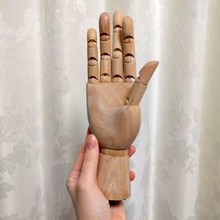 WOODEN HAND モデルハンド 美術 モチーフ(彫刻/オブジェ)