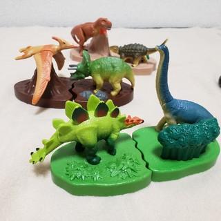 マクドナルド(マクドナルド)のアニア 恐竜 フィギュア 6体セット(キャラクターグッズ)