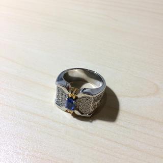ダイヤモンドプラチナリング!メンズ!定価35万(リング(指輪))