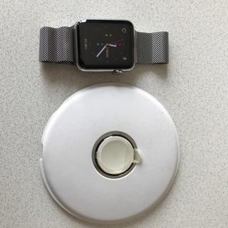 アップルウォッチ(Apple Watch)のany様専用 Apple watch アップルウォッチ 42mm オマケ多数(腕時計(デジタル))