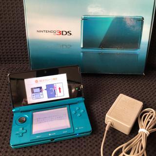 ニンテンドー3DS - 3DS  アクアブルー