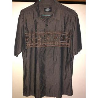 ハイエルディーケー(81LDK)のHildk EMBROIDERY SHIRT 半袖シャツ(シャツ)