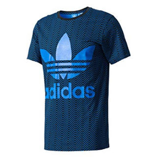 アディダス(adidas)の新品未使用!adidas originalsヘリンボーンTシャツ サイズ O(Tシャツ/カットソー(半袖/袖なし))