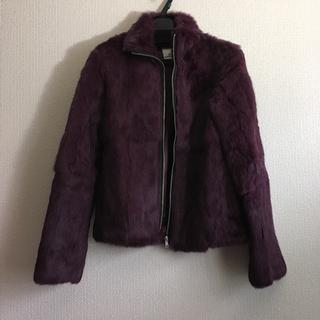 ミスティウーマン(mysty woman)のラビットのジャケット(毛皮/ファーコート)