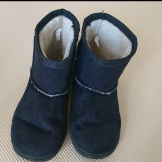 ムジルシリョウヒン(MUJI (無印良品))の【値下げ】MUJIムートンブーツ17-18cm(ブーツ)
