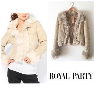 ロイヤルパーティー(ROYAL PARTY)のロイヤルパーティー*ムートンコート ファーコート 羊革(毛皮/ファーコート)