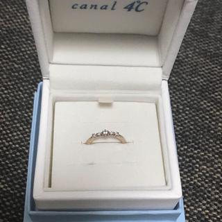 カナルヨンドシー(canal4℃)のお値下げ‼️  canal4℃   ピンキーリング(リング(指輪))