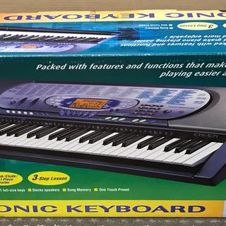 カシオ(CASIO)の新品 キーボード CASIO CTK-571 電子ピアノ(キーボード/シンセサイザー)