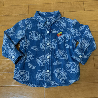 ヒステリックミニ(HYSTERIC MINI)のデニムシャツ(シャツ/カットソー)