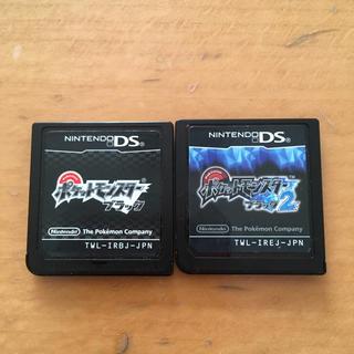 ニンテンドーDS(ニンテンドーDS)のDS  ポケットモンスターブラック ブラック2(携帯用ゲームソフト)