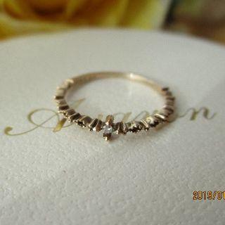 ジュピターゴールドレーベル(jupiter GOLD LABEL)のK10★ジュピターゴールドレーベルダイヤモンドリング(リング(指輪))
