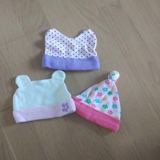 新生児 帽子セット(帽子)