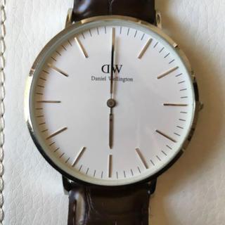 ダニエルウェリントン(Daniel Wellington)のダニエルウェリントン 40mm(腕時計(アナログ))