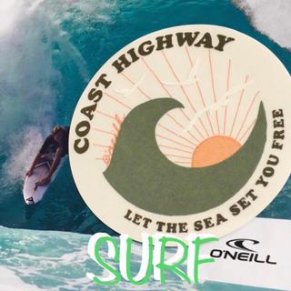 オニール(O'NEILL)のO'NEILLオニールUS期間限定coasthighwayデザインステッカー(サーフィン)