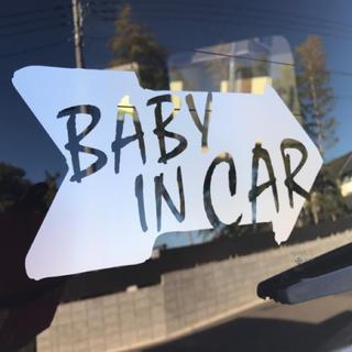 BABY IN CAR ステッカー(車外アクセサリ)