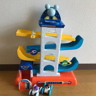 ディズニー(Disney)のディズニー ミッキー バス スティッチ マイク おもちゃ 車 アカチャンホンポ(電車のおもちゃ/車)