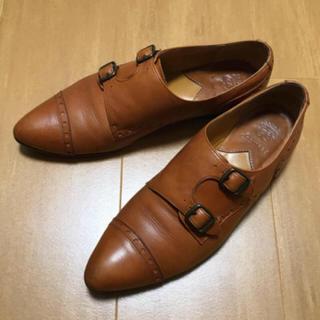 ショセ(chausser)のchausserショセ ダブルモンク(ローファー/革靴)