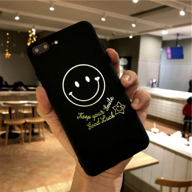 iphone6 ケース iphone7 、 アイフォンケース☆スマイリー柄☆iPhone7.8.X☆スマホケースの通販 by shima♡'s shop|ラクマ