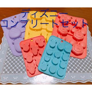 Disney - ディズニー シリコン プチケーキ型&チョコレートモールド