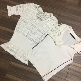 ダブルスタンダードクロージング(DOUBLE STANDARD CLOTHING)のDOUBLE STANDARD CLOTHING(カットソー(半袖/袖なし))