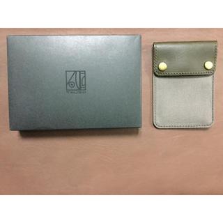 ビームス(BEAMS)の定価4000円 beams カードケース レザー zozo 購入 (名刺入れ/定期入れ)