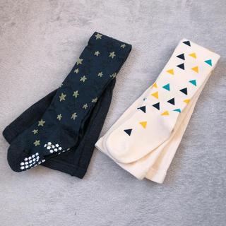 シマムラ(しまむら)の【未使用】タイツ 95cm(靴下/タイツ)