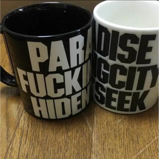 ハイドアンドシーク(HIDE AND SEEK)のHIDEANDSEEK PFC マグカップ ペアセット(グラス/カップ)