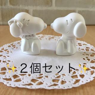 ⭐️アロマストーン ・スヌーピー & ベル セット⭐️(アロマ/キャンドル)