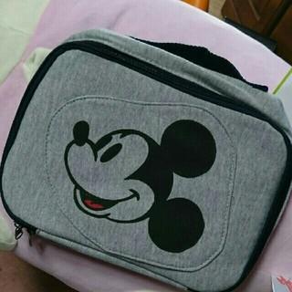 ディズニー(Disney)のミッキーマウス オムツポーチ マザーポーチ(ベビーおむつバッグ)