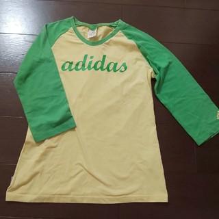 アディダス(adidas)のアディダス レディースL⭐️7分袖Tシャツ(Tシャツ(長袖/七分))