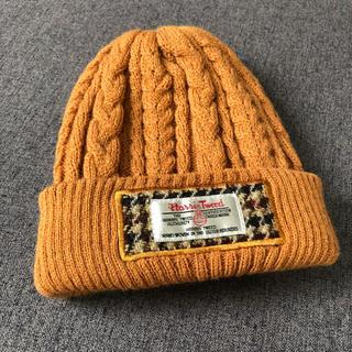 シマムラ(しまむら)のハリスツイード×しまむら キッズニット帽(帽子)