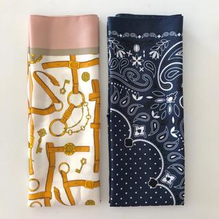 ジーユー(GU)のGU スカーフ2枚セット(バンダナ/スカーフ)