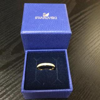 スワロフスキー(SWAROVSKI)のスワロフスキーリング☆イエローゴールド(リング(指輪))