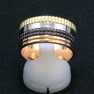 ブシュロン 約22.5号 キャトル クラシック リング K18 新品仕上げ済み(リング(指輪))
